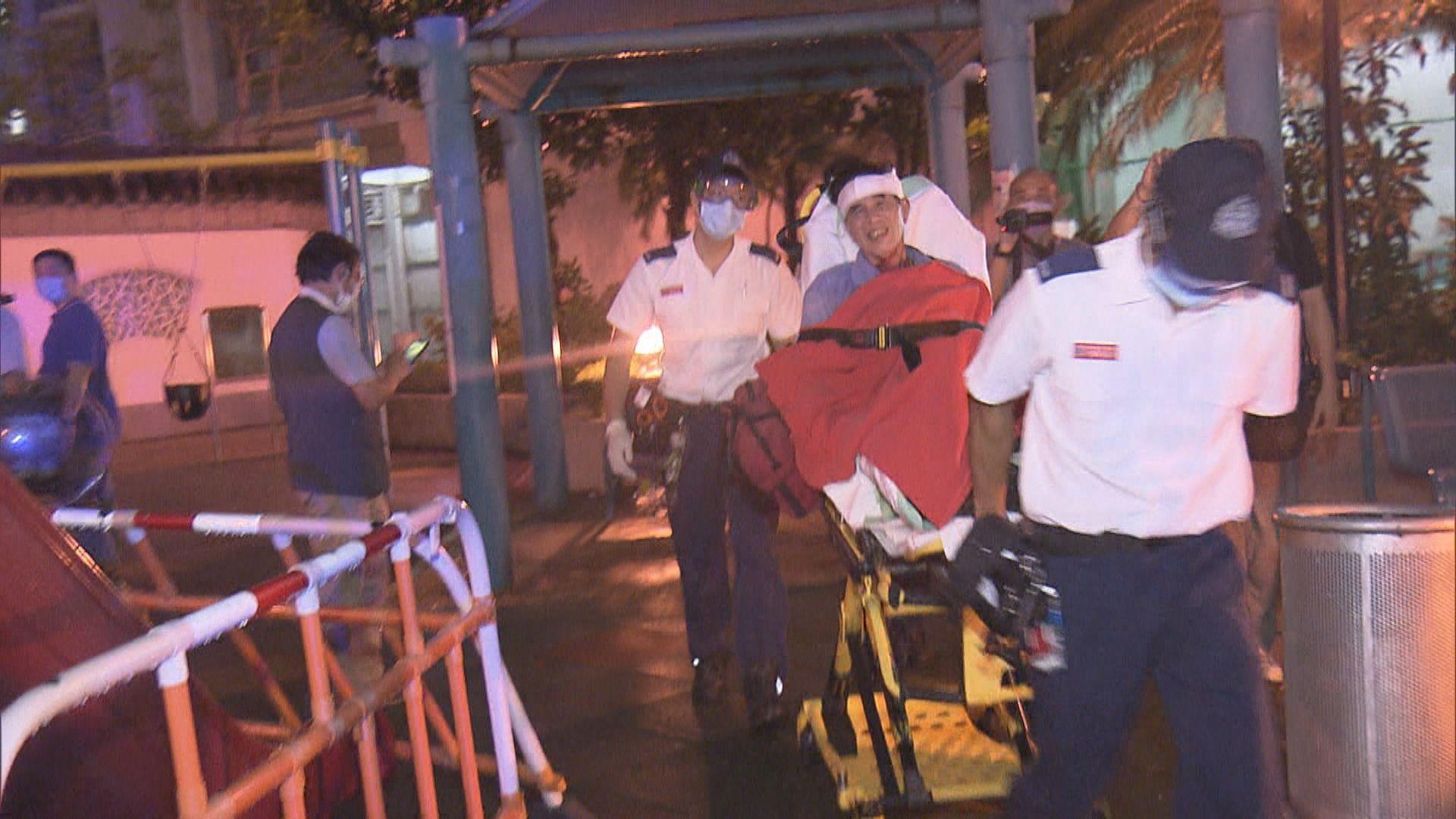 深水埗踏單車老翁遇劫 頭部受傷