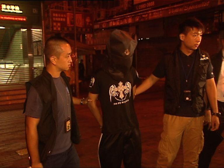 警方拘三青少年涉四宗劫案