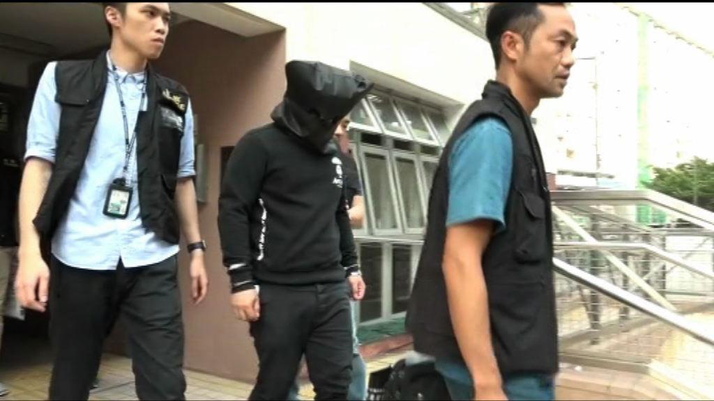 男子疑涉旺角街頭搶劫被捕