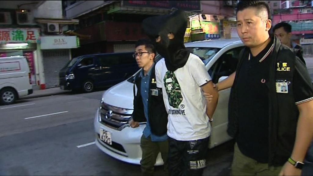 男子涉五宗行劫性工作者案被捕