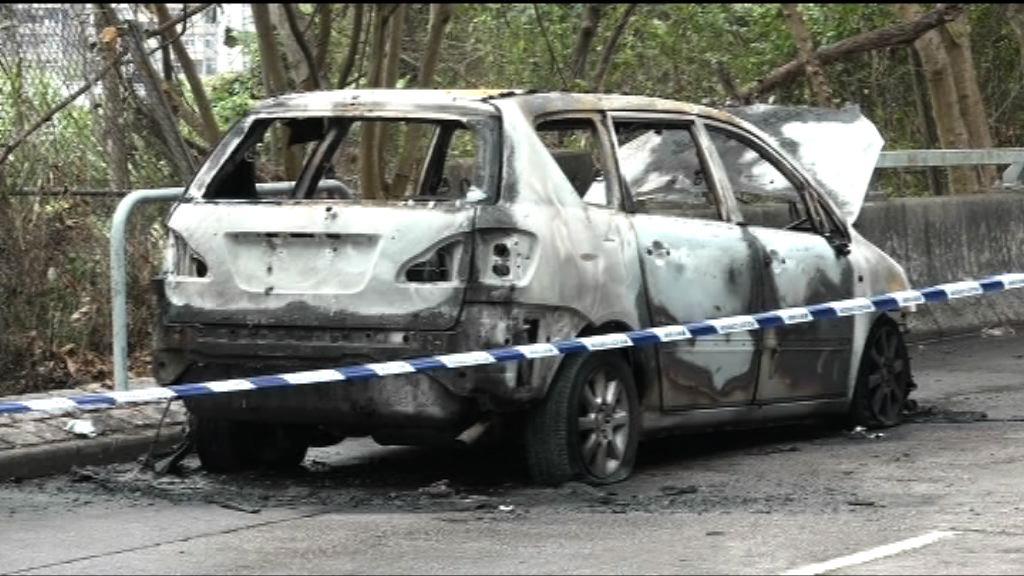 大埔七人車焚毀疑與劫案有關