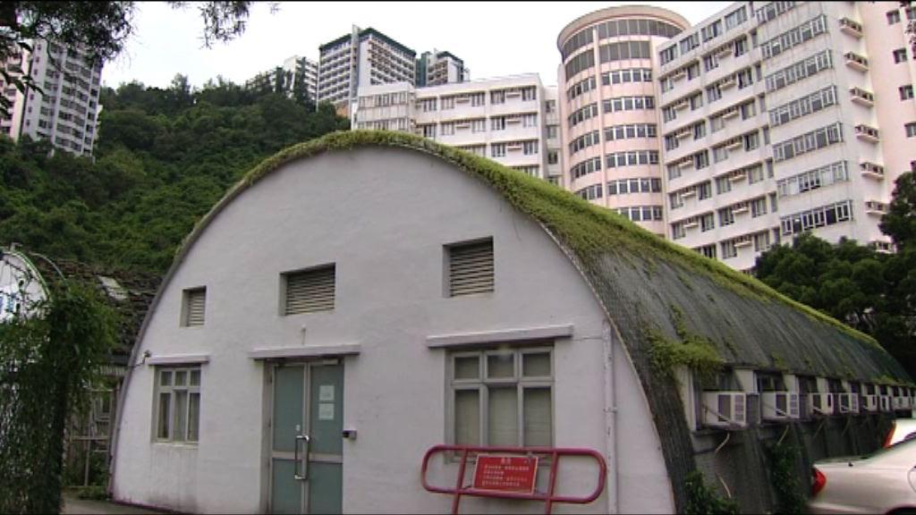 中大計劃移除校內鐵皮屋屋頂植物