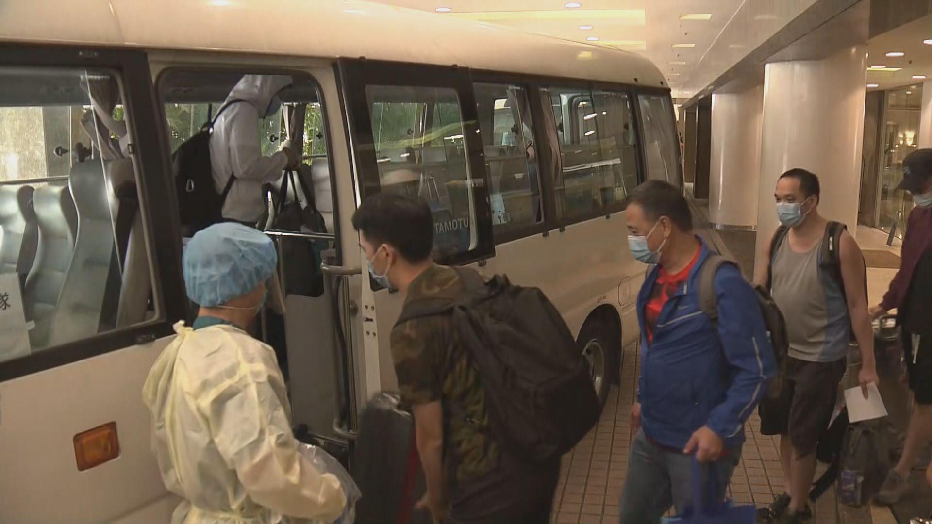 帝苑酒店數十名男制服員工前往竹篙灣隔離檢疫兩周