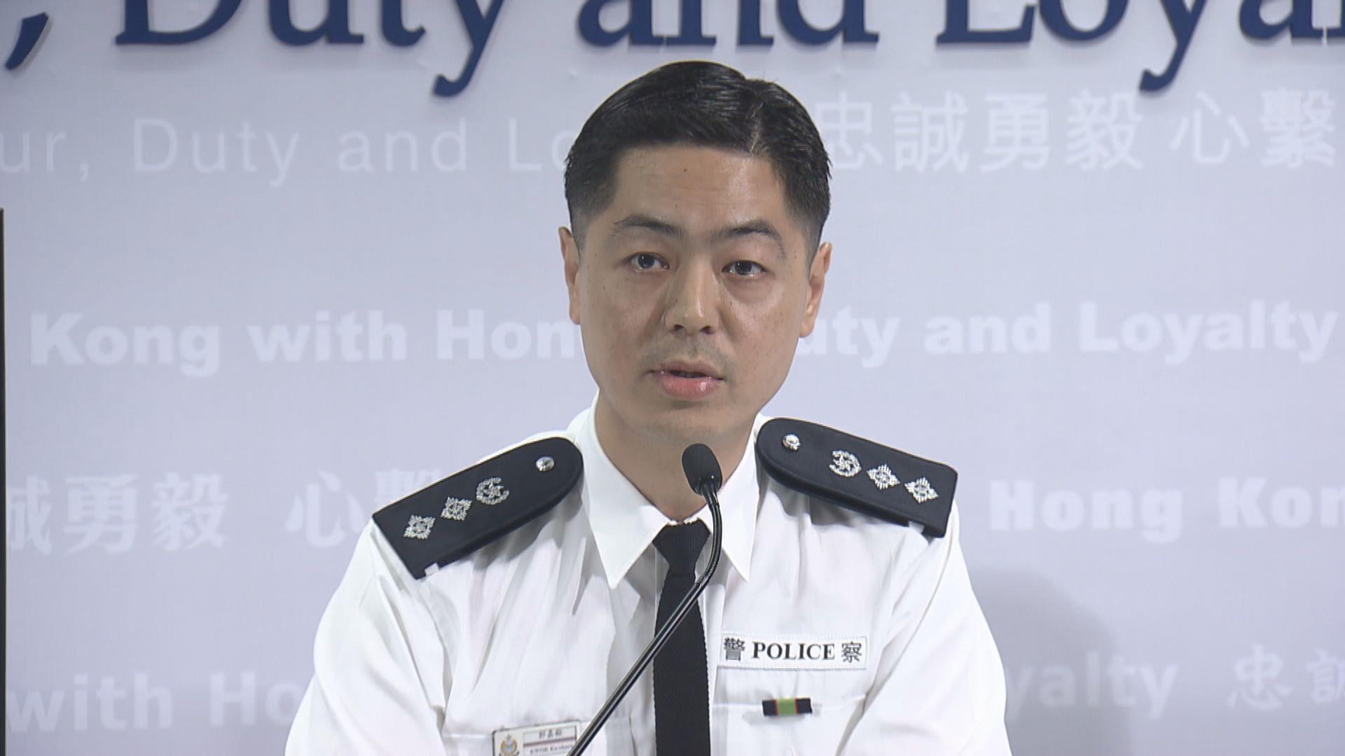 警方︰721當晚接獲兩萬多求助電話 接聽1100個