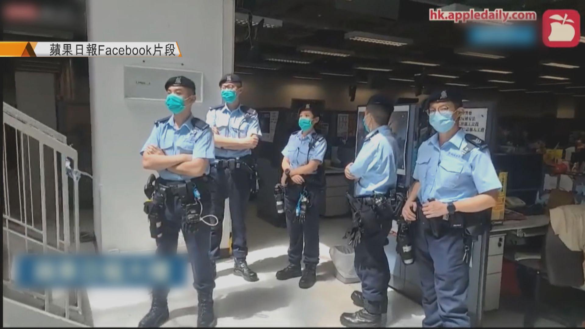 壹傳媒工會:報館高層未見手令警已入場不理想