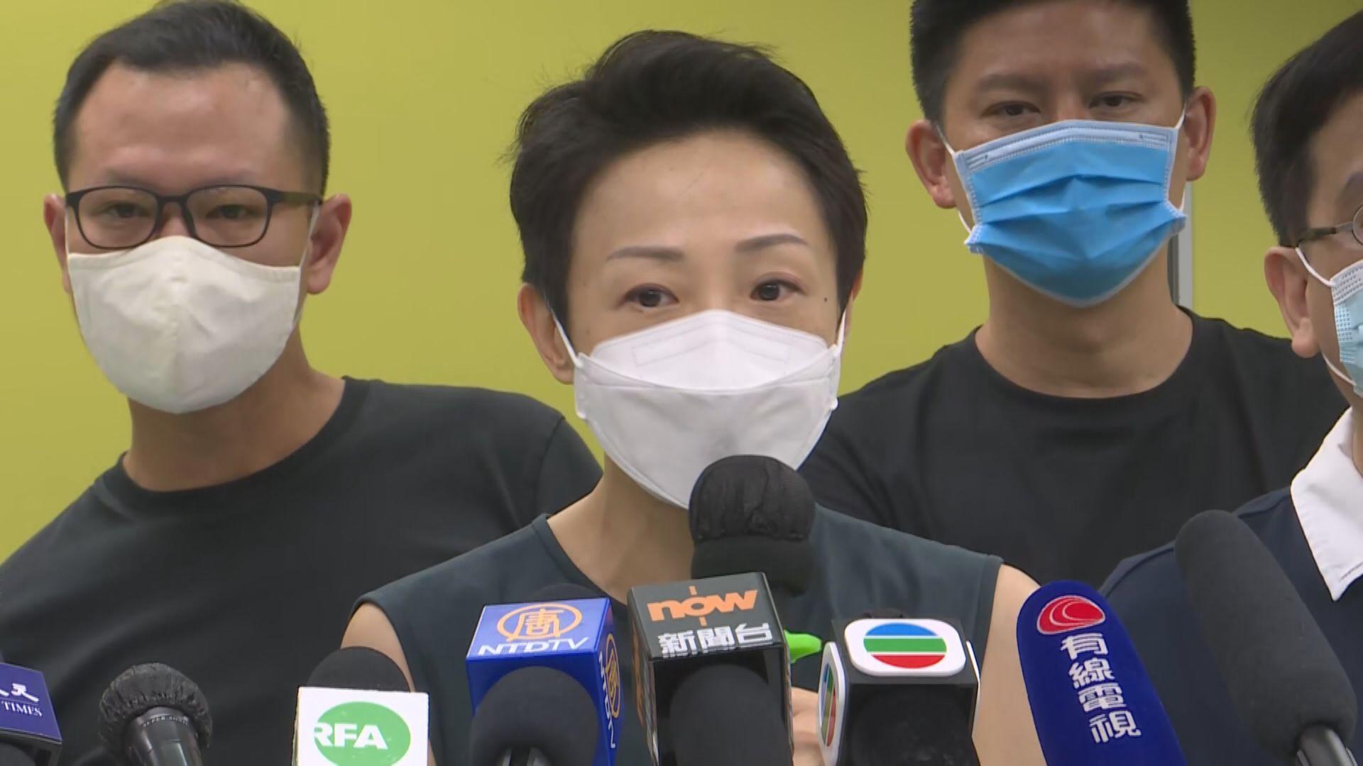 陳淑莊質疑康文署有否取得法律意見覆檢政治人物著作