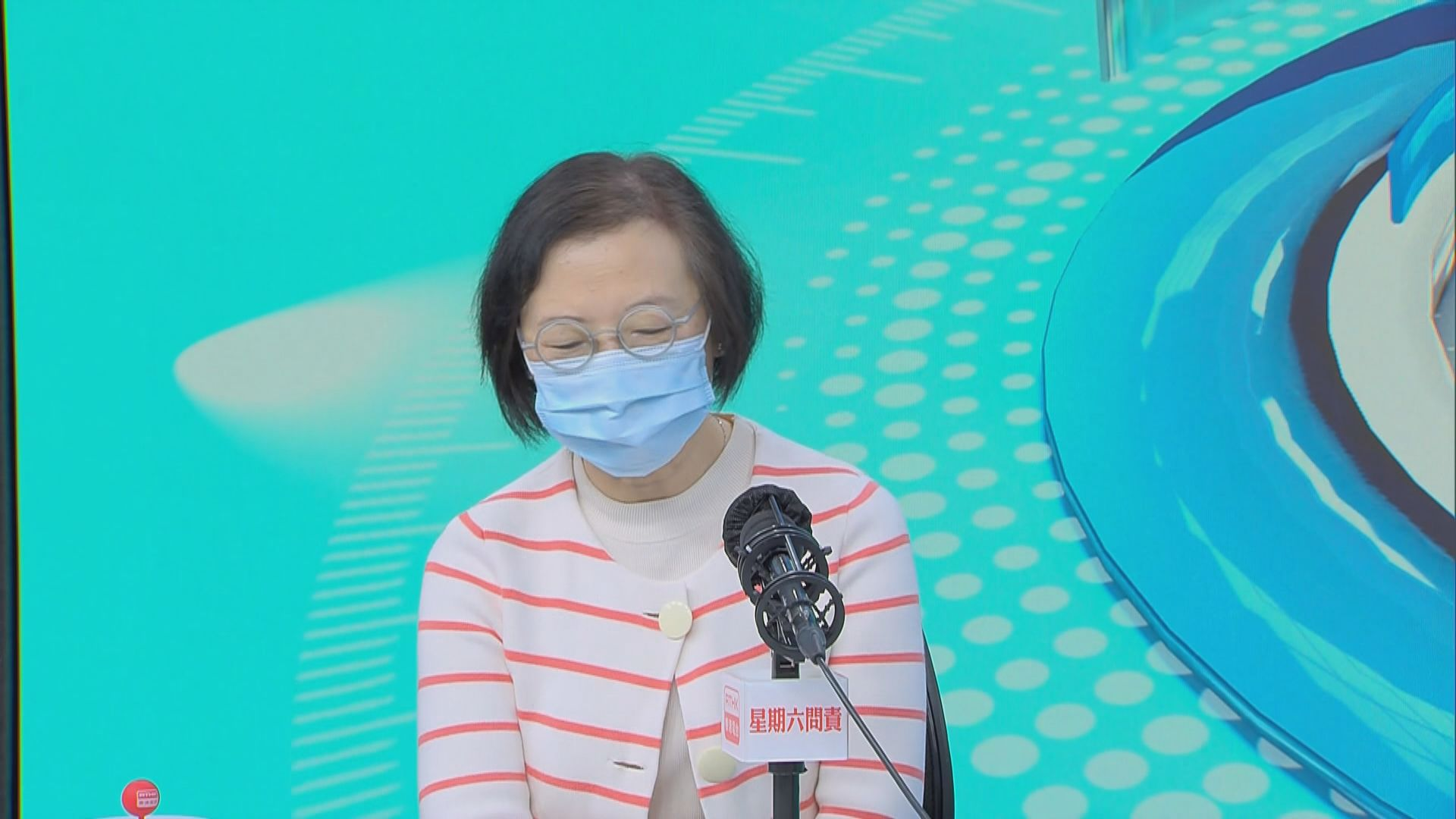 陳肇始對香港抗疫情況感恩 形容政府沉著應戰