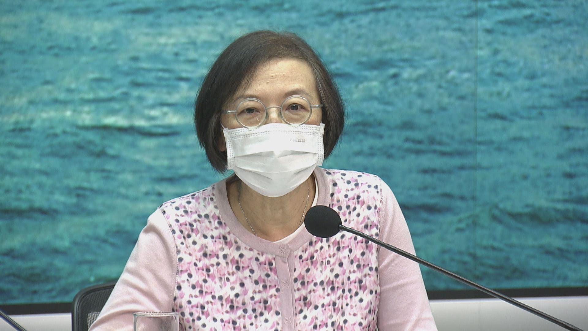 陳肇始:公眾場所難以控制市民有否跟從防疫措施