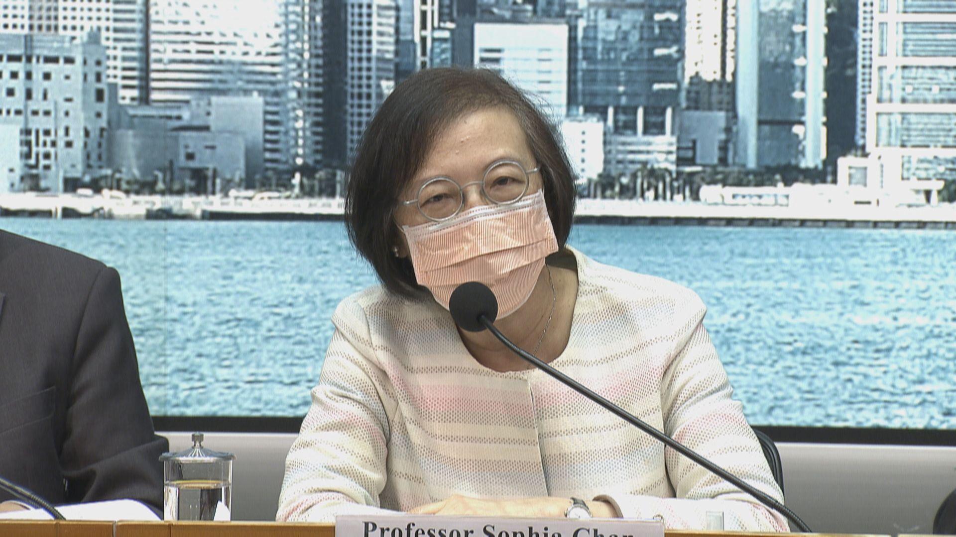 陳肇始:收緊防疫措施帶來不便 望市民咬緊牙關度過