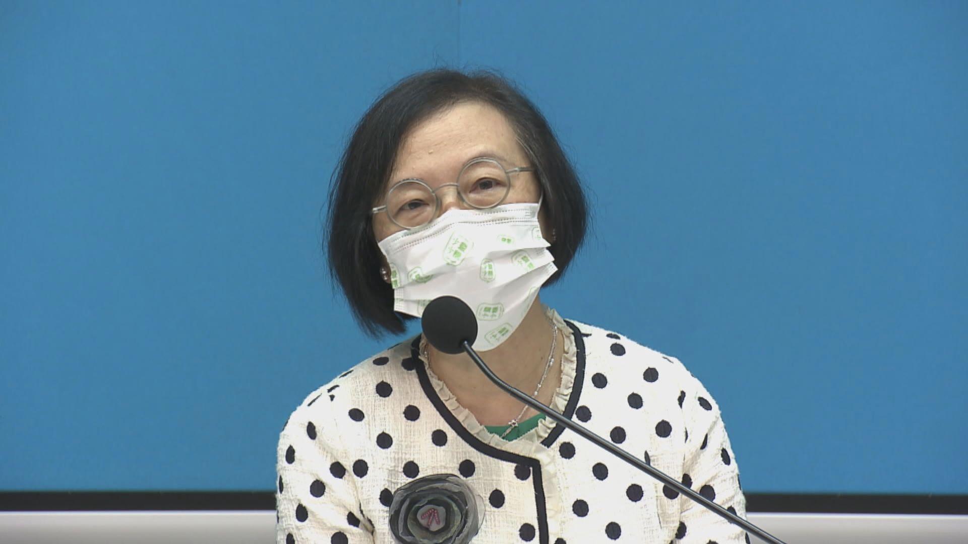 陳肇始:規定多個群組須接種疫苗是保障員工安全
