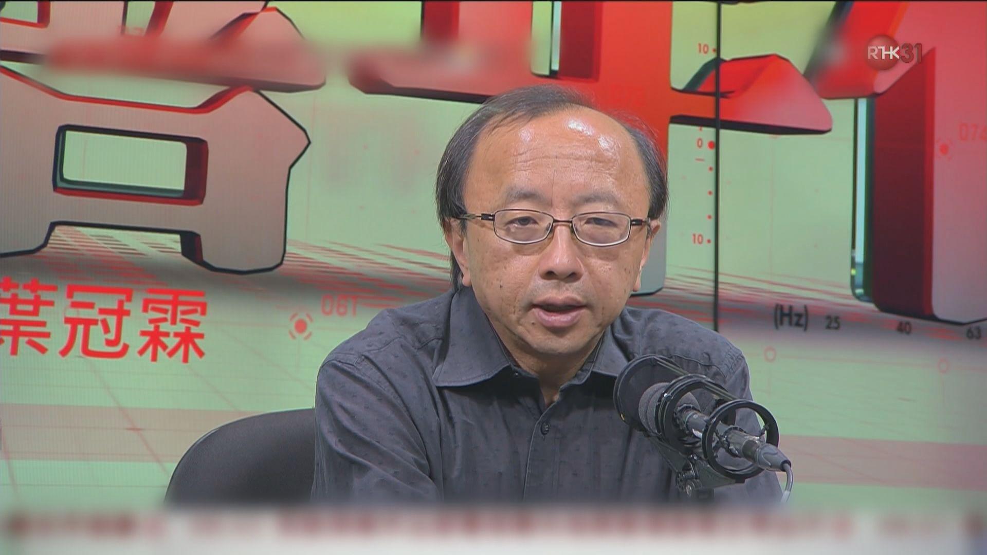 張達明:警方喬裝行動期間要遵從法律