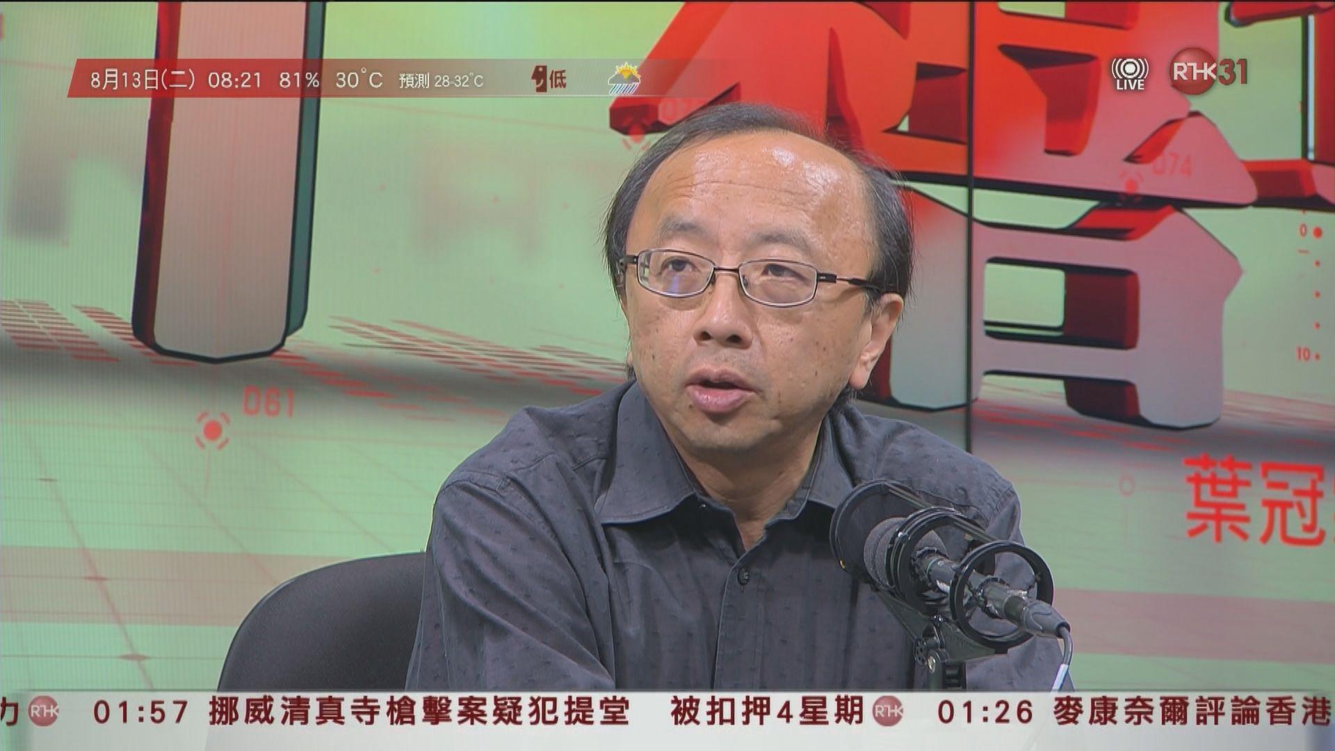 張達明:警察不按規矩做事嚴重破壞法治