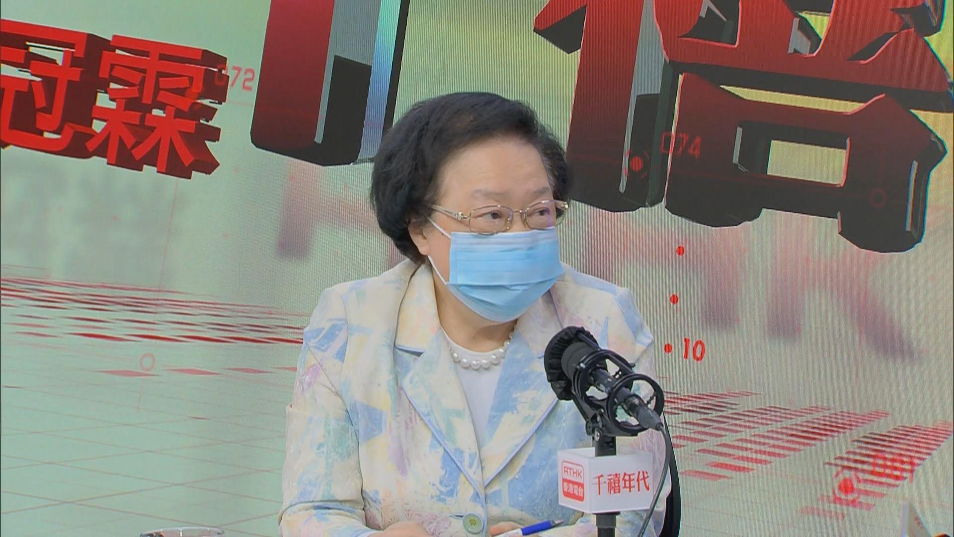 譚惠珠:區選無人因「光復香港」口號被DQ是走漏眼