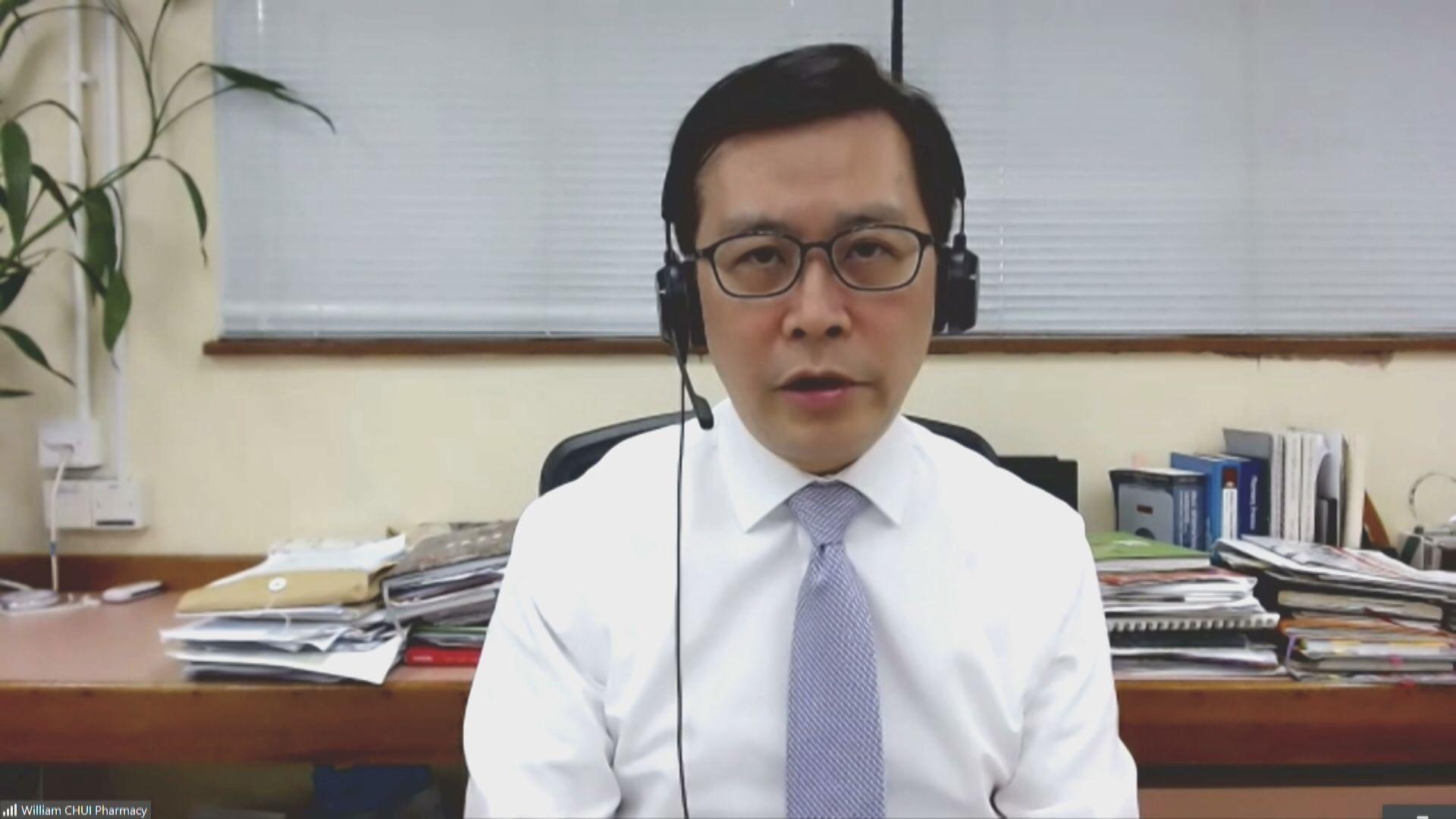 崔俊明:港府可減阿斯利康採購量 改買強生疫苗