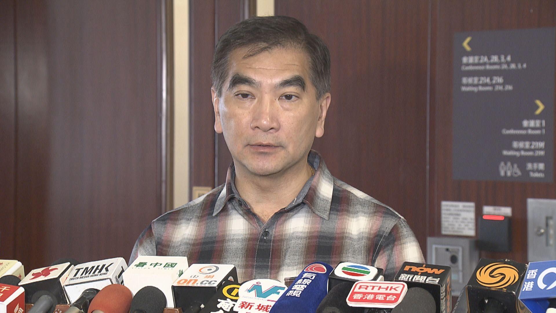 鍾國斌:美國制裁可預期但不合理 料對官員影響不大