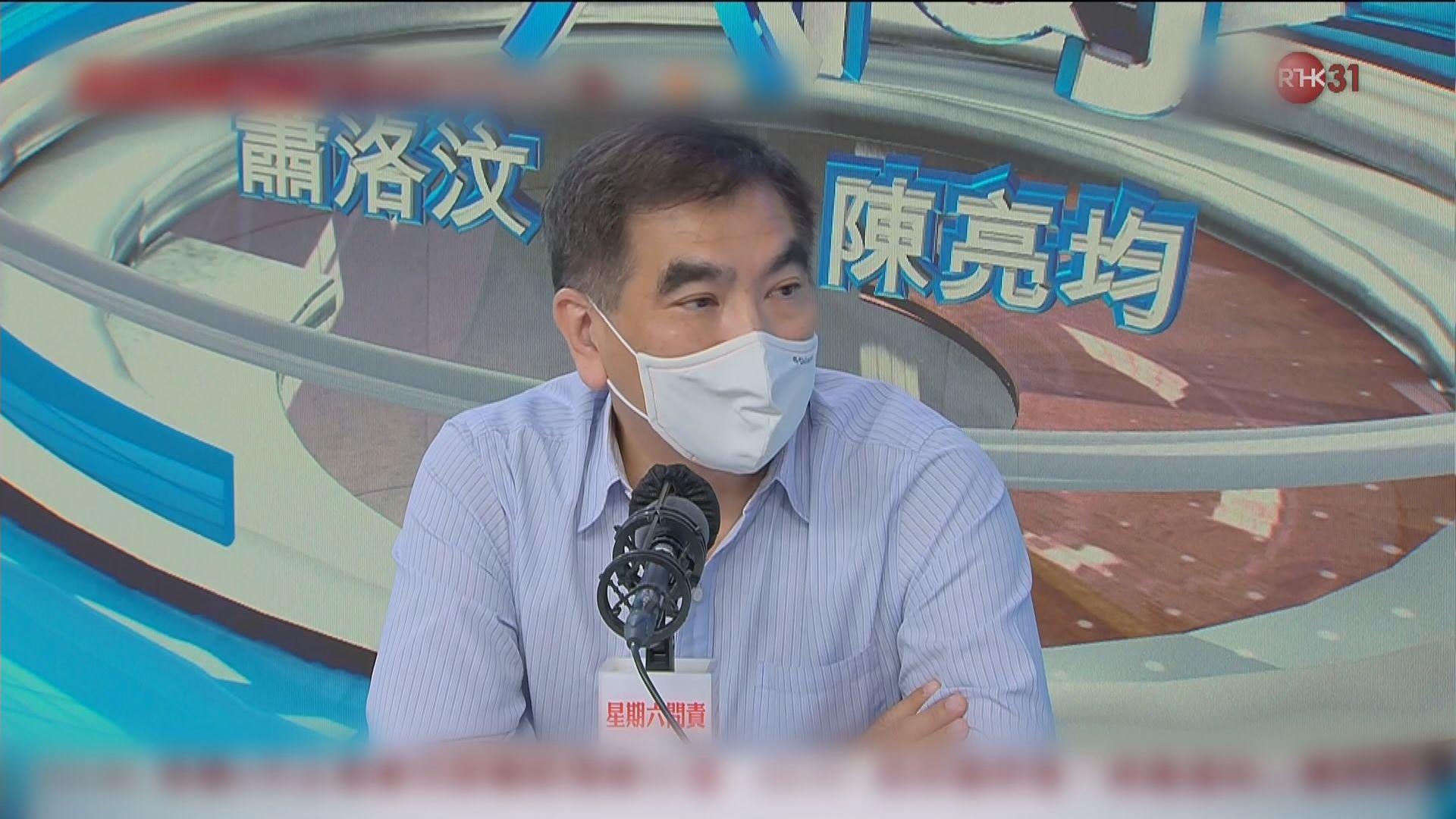 鍾國斌:美要求香港出口產品貼中國製造標籤 影響不大