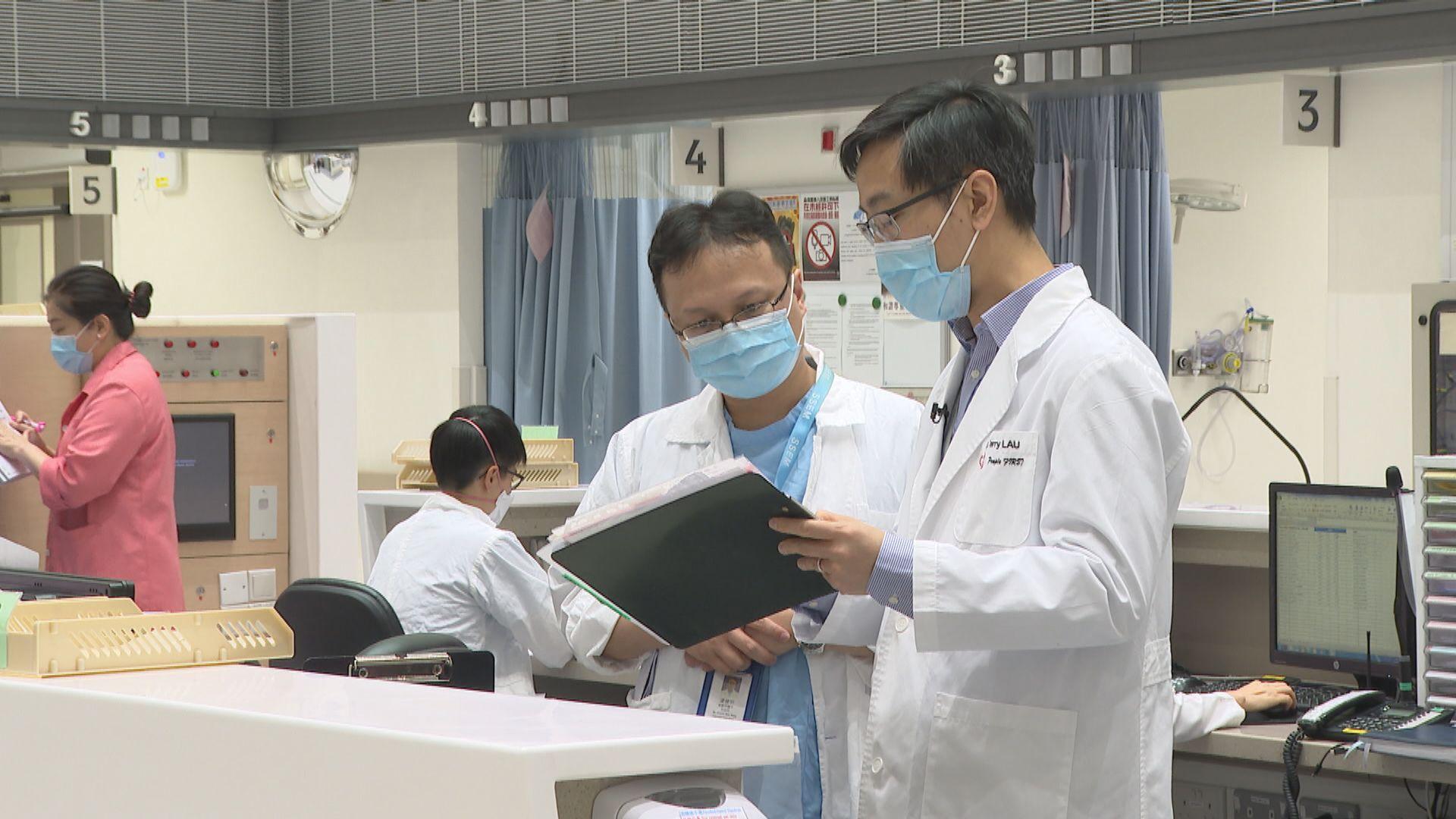 公共醫療醫生協會憂海外畢業生欠缺臨床經驗 陳肇始 : 醫管局會監察