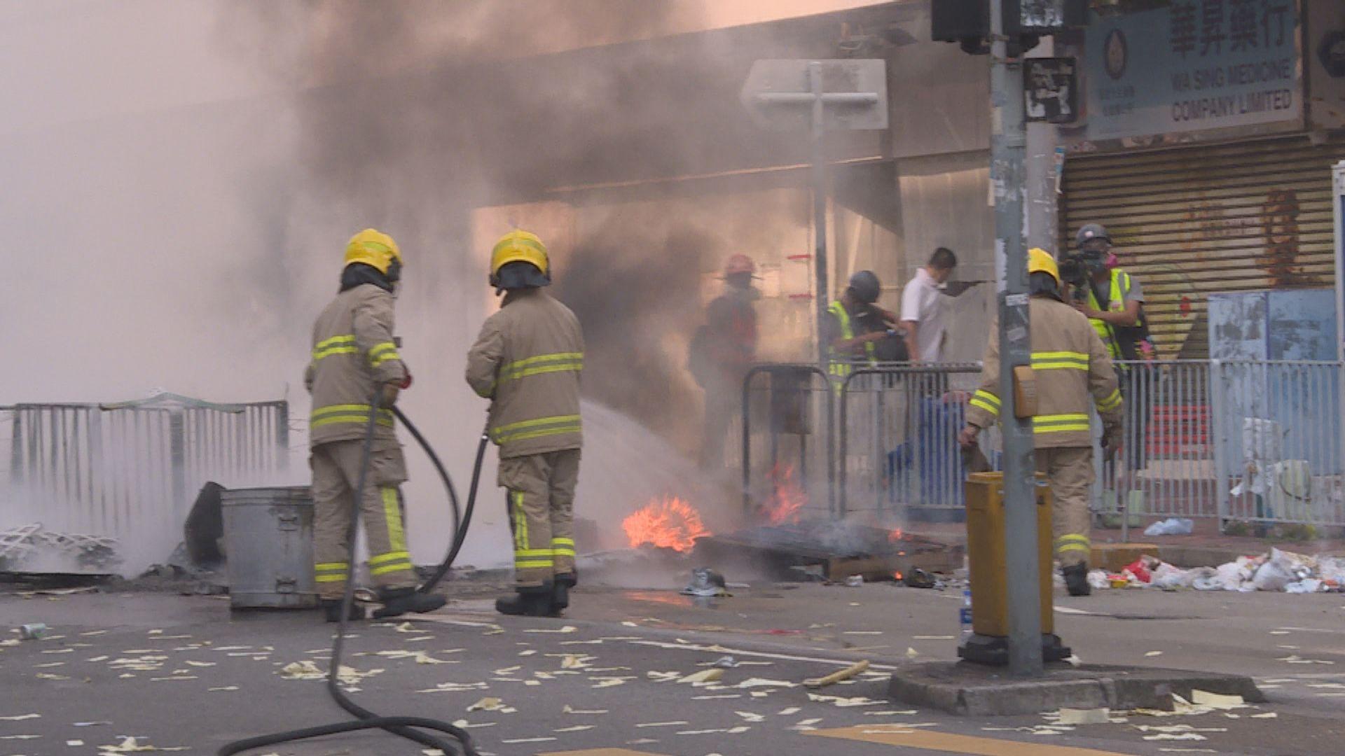 消防處:在社會最困難時刻作適當部署