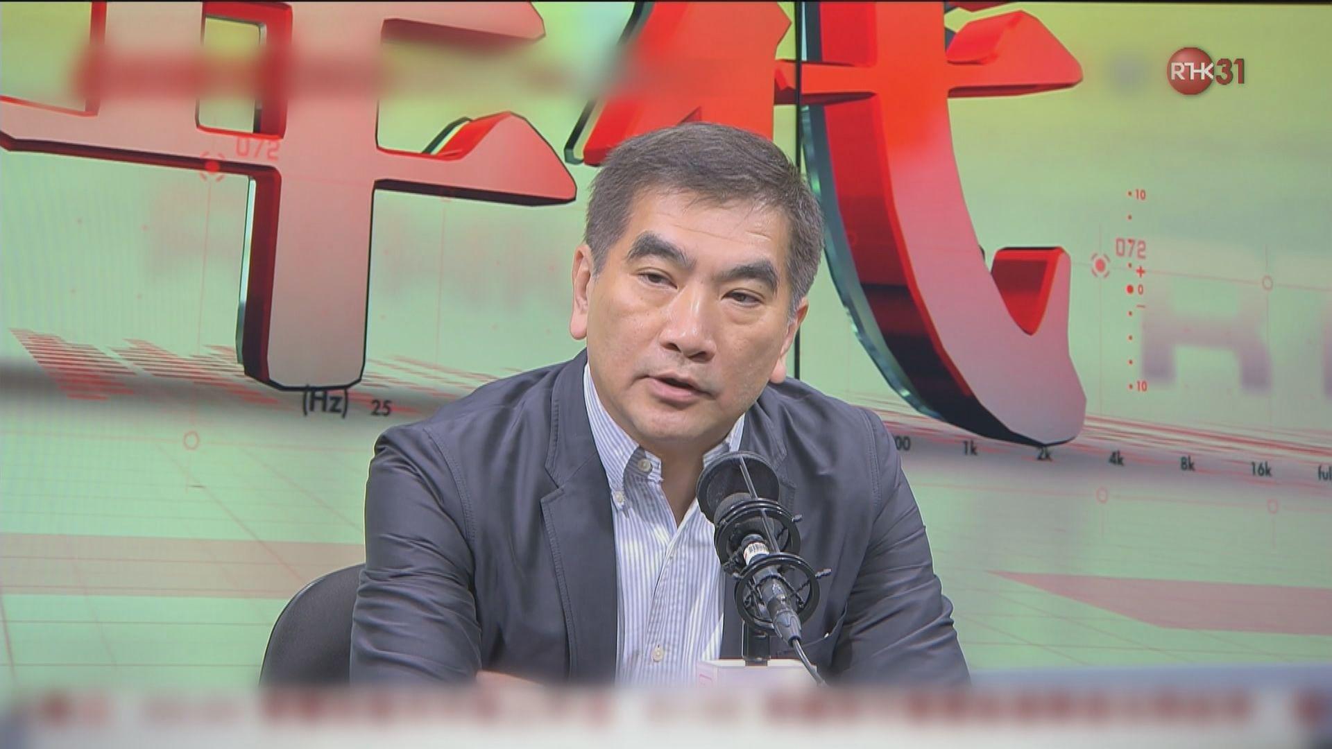 鍾國斌認為不可能撤回逃犯條例修訂
