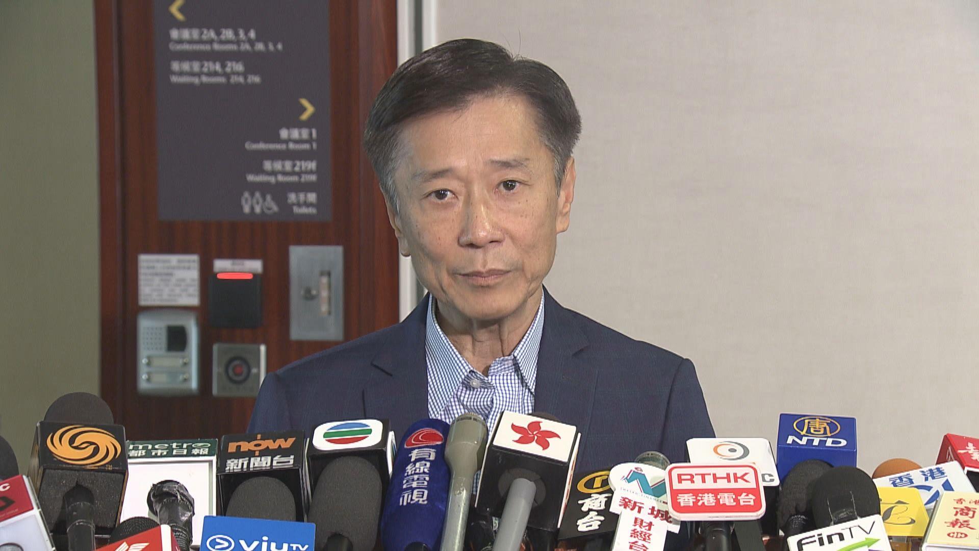 姚思榮:業界主動提出讓從業員協助接種中心運作