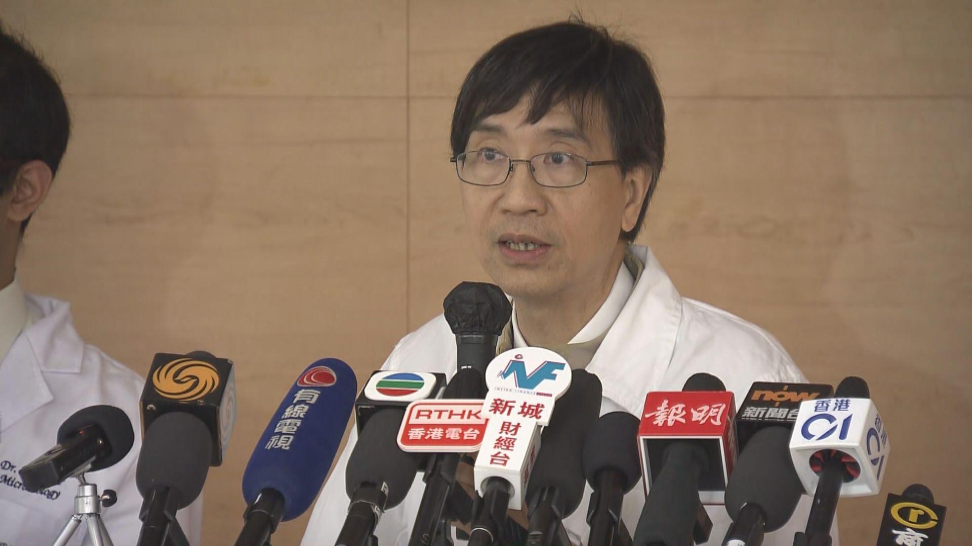 袁國勇:戊肝個案或大爆發前警號