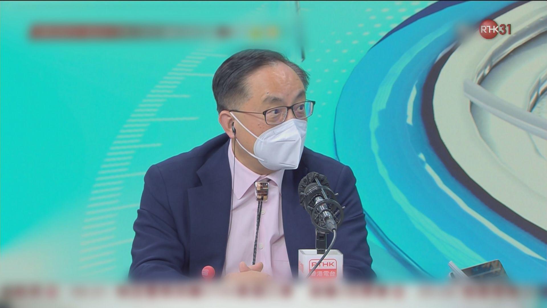 楊偉雄指疫情完結前推出可重用口罩