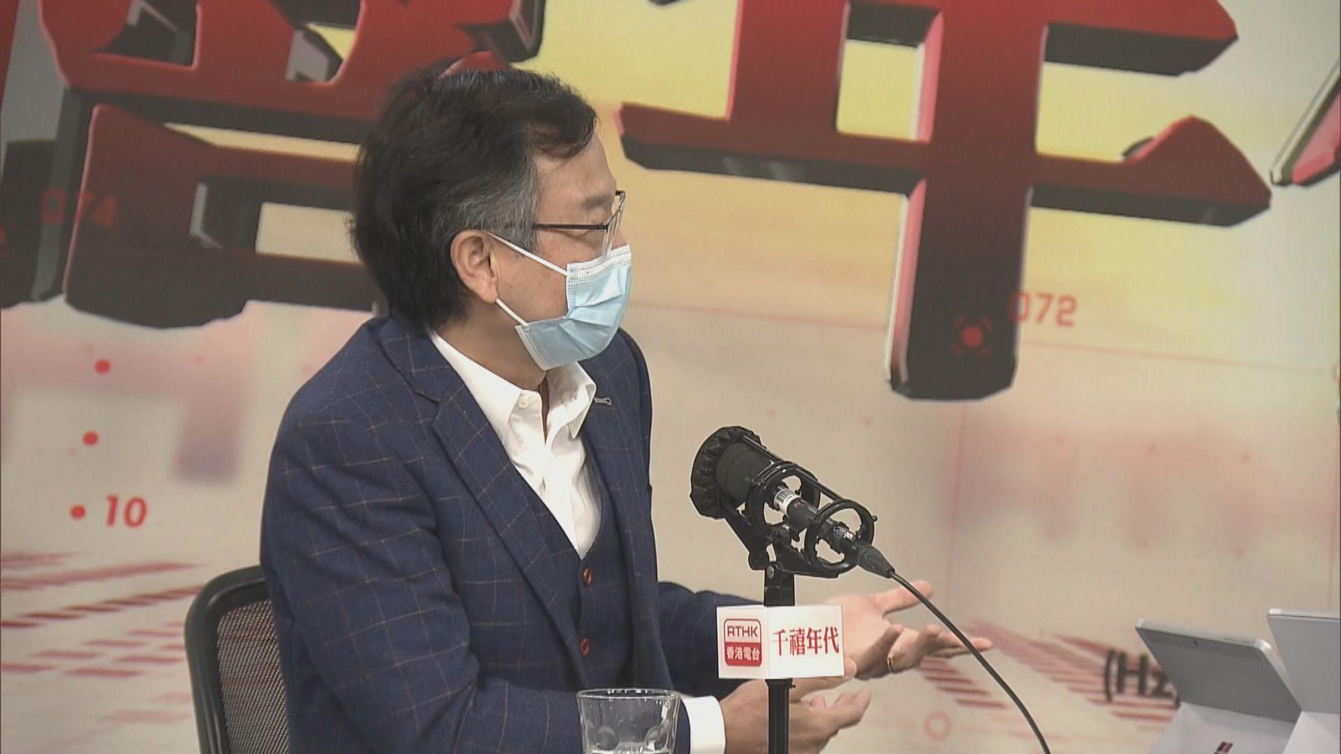 林正財否認強制檢疫決定來得太遲