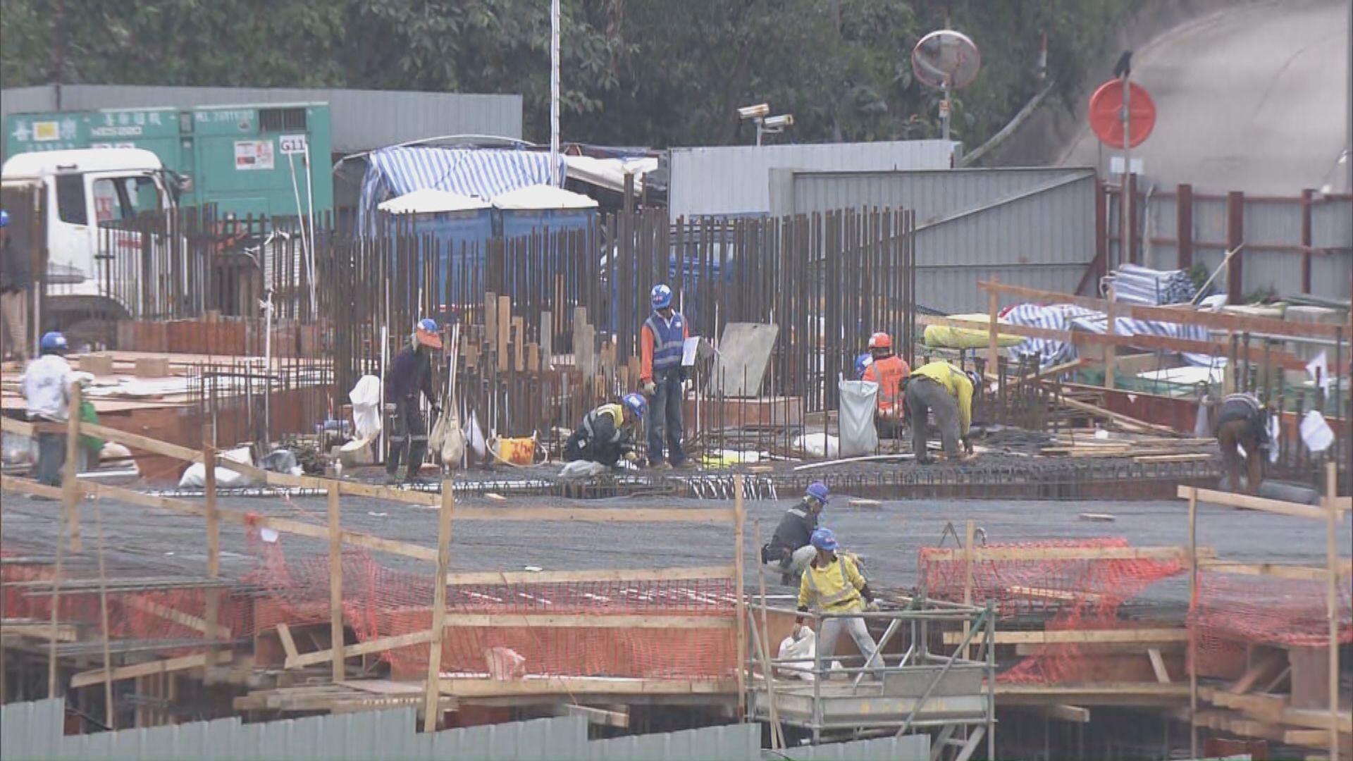 建造業長散工未受惠保就業計劃 發展局將推新措施補救