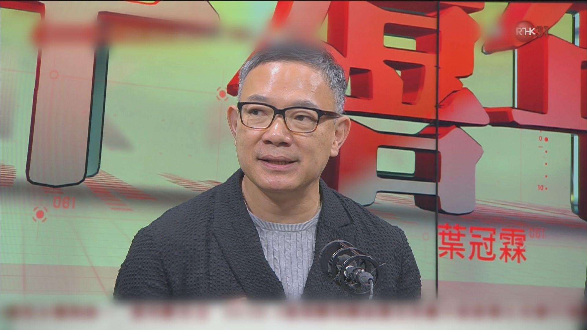 謝偉俊:政府學生閉門會面助拉近雙方距離