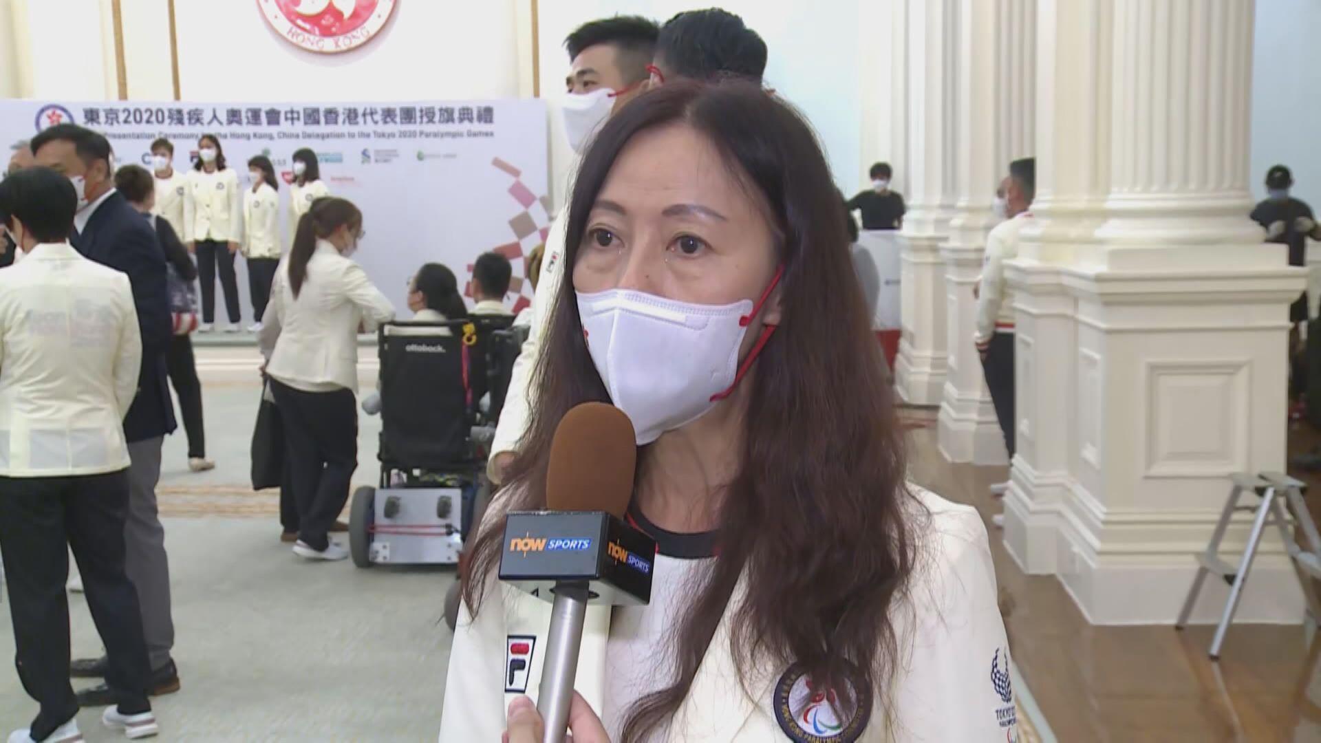 胡小玲:殘奧運動員奮鬥為社會帶正能量