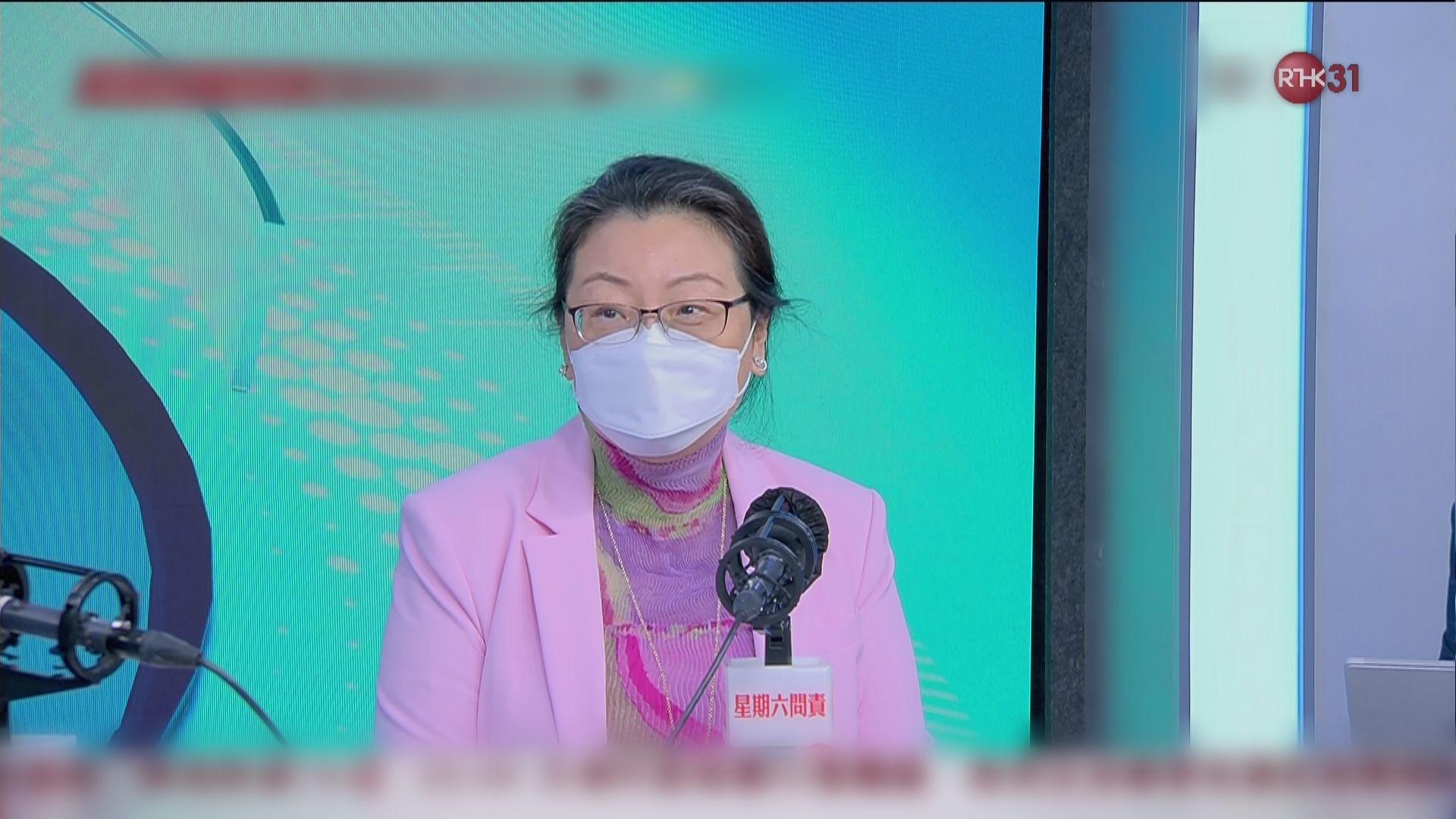 鄭若驊澄清無指政改退步 強調席位增屬政制有序發展