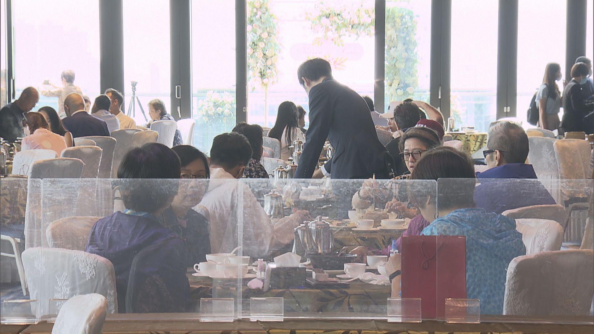 餐飲業稱中秋晚市生意比去年增五成