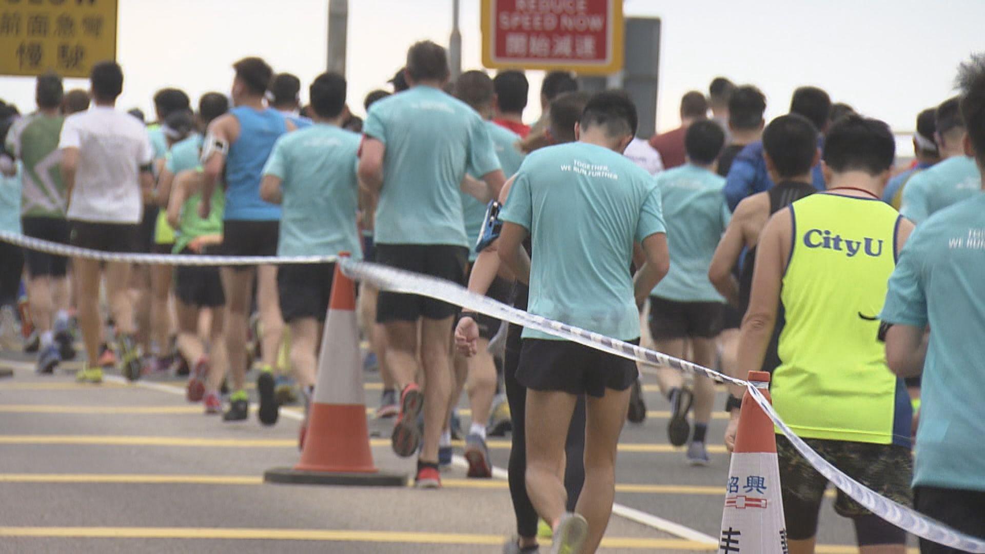 馬拉松十月復辦 起跑及到終點後須戴口罩