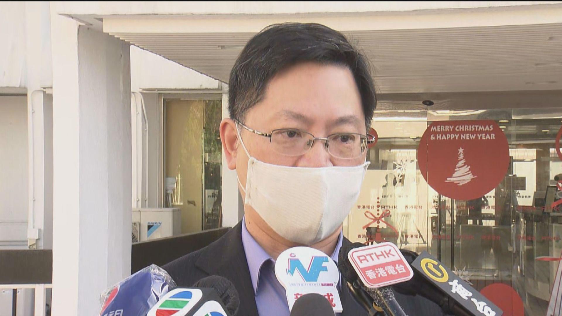 薛永恒:下月準備好預約接種疫苗網站