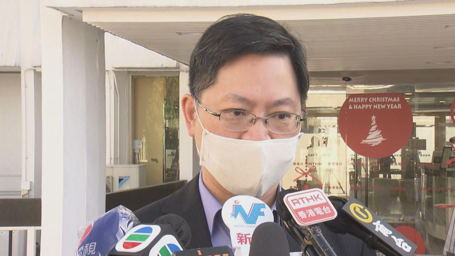 薛永恒:會視乎疫情決定是否強制安裝「安心出行」