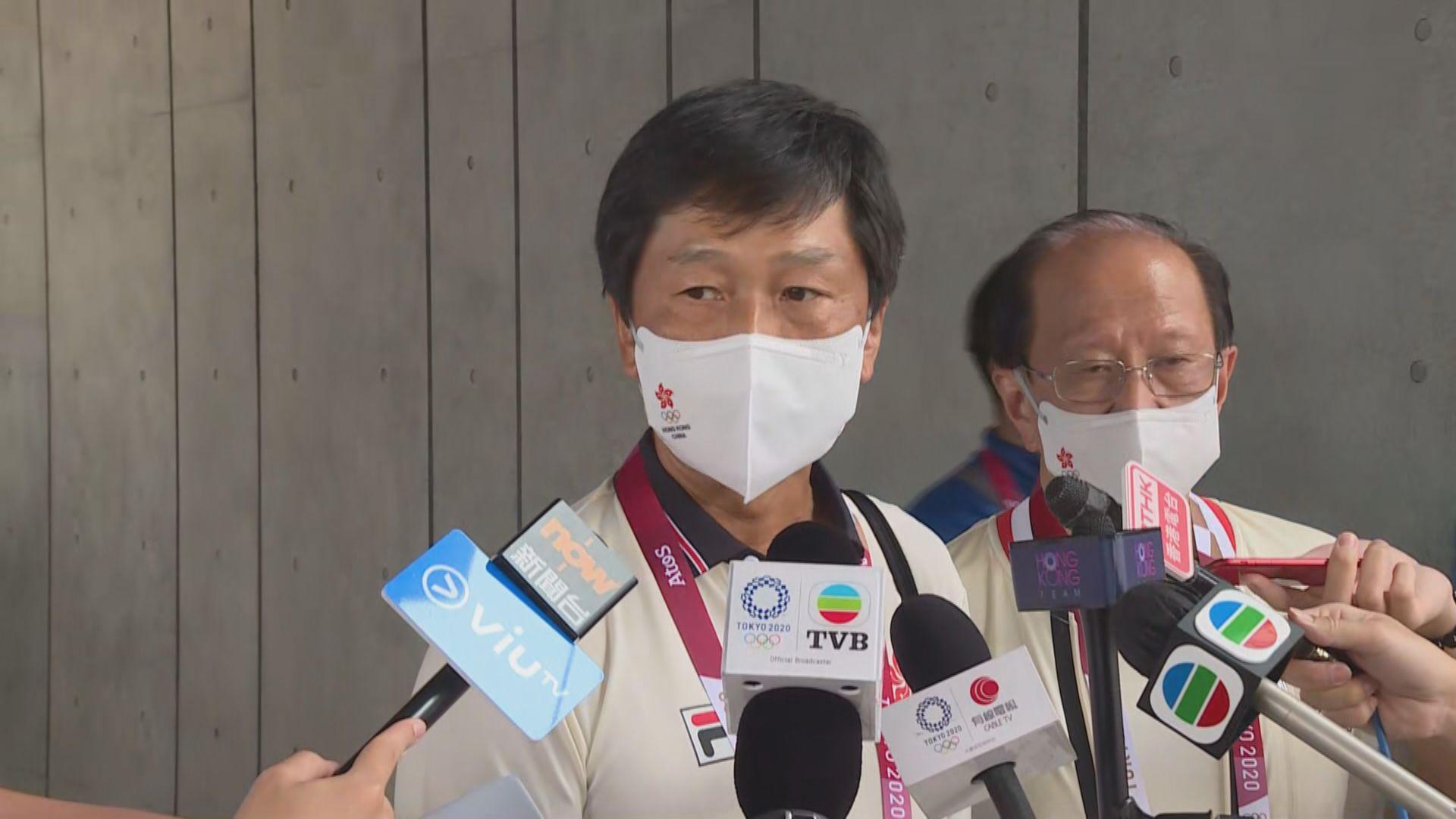 楊德強:何詩蓓傷勢不嚴重但不希望影響日後作賽