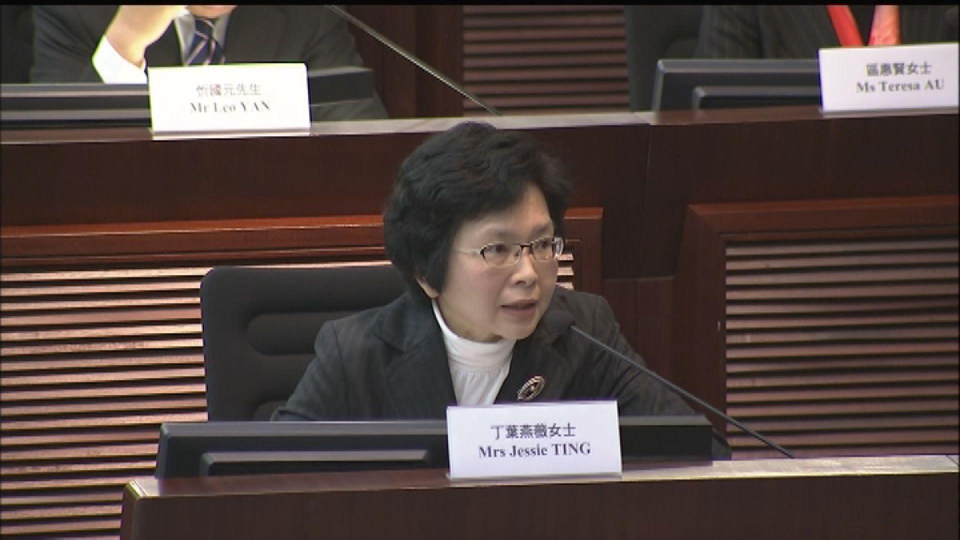 丁葉燕薇任檢討港台管治及管理專責小組主任