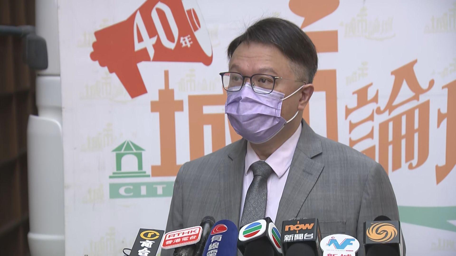 許樹昌:政府做好出入境把關才能預防新一波疫情