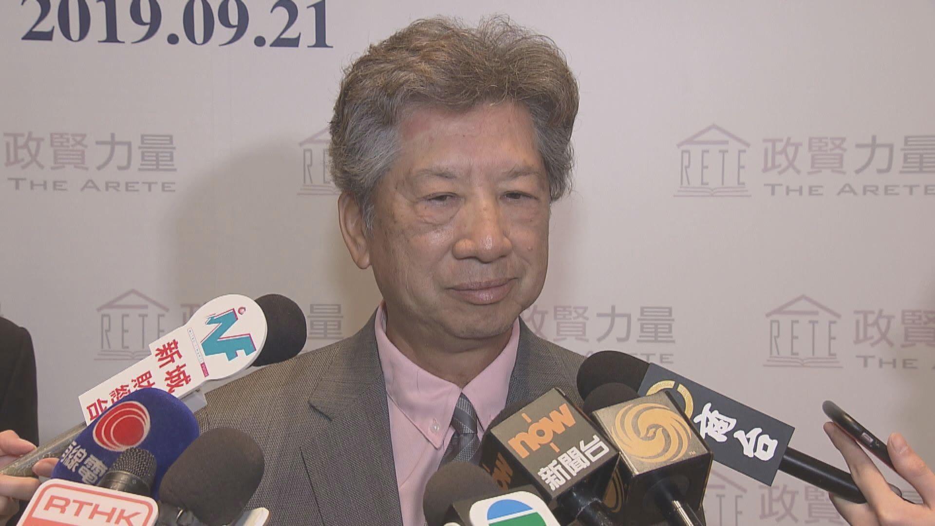 湯家驊:選舉延期是最後選項 迫不得已才考慮