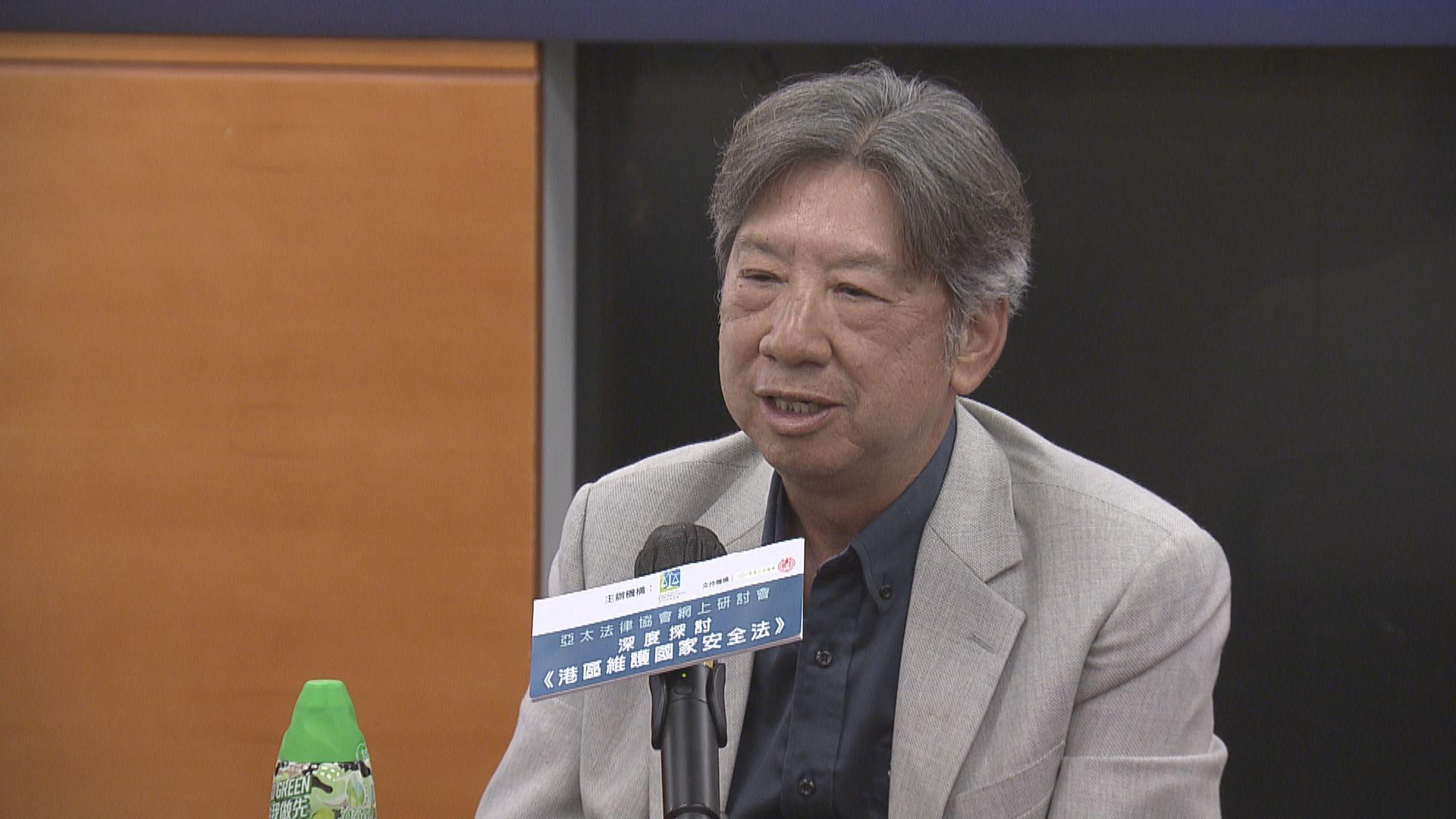 湯家驊:冀撤銷議員資格決定仍需經立法會表決