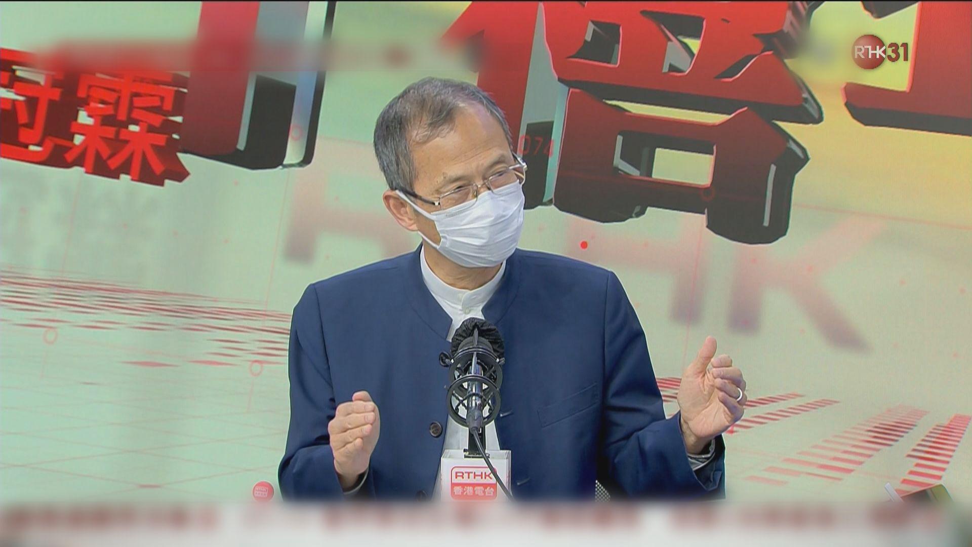 曾鈺成:設臨時立法會未必符合基本法