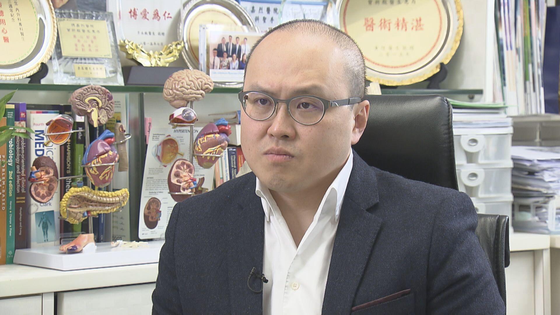 曾祈殷:大規模強制檢測或需香港停擺數天