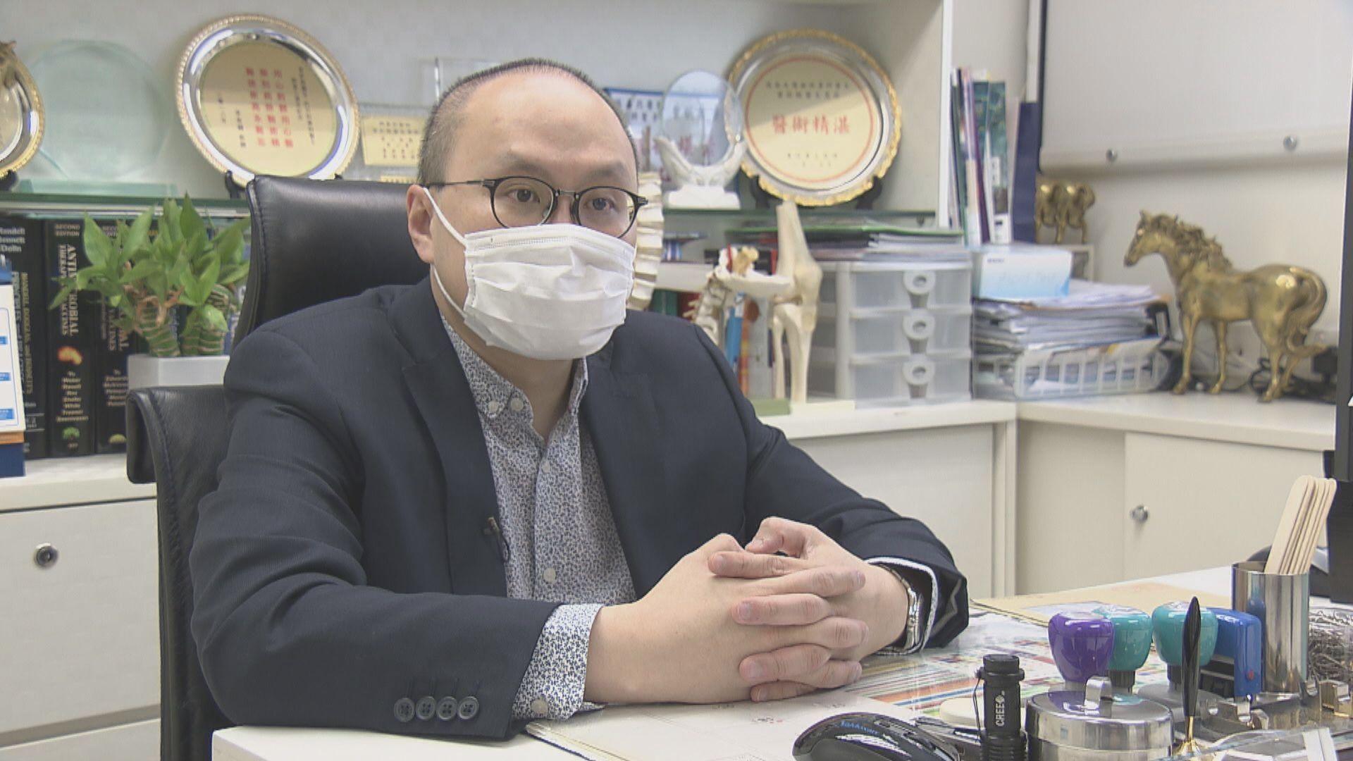 曾祈殷:須強制檢測大廈多位於九龍東 有如小區強制篩查