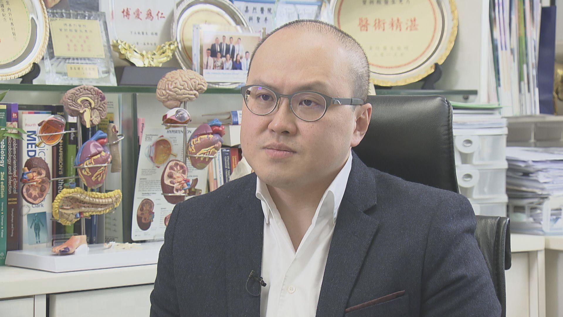 曾祈殷:當局應更新機場感染控制指引