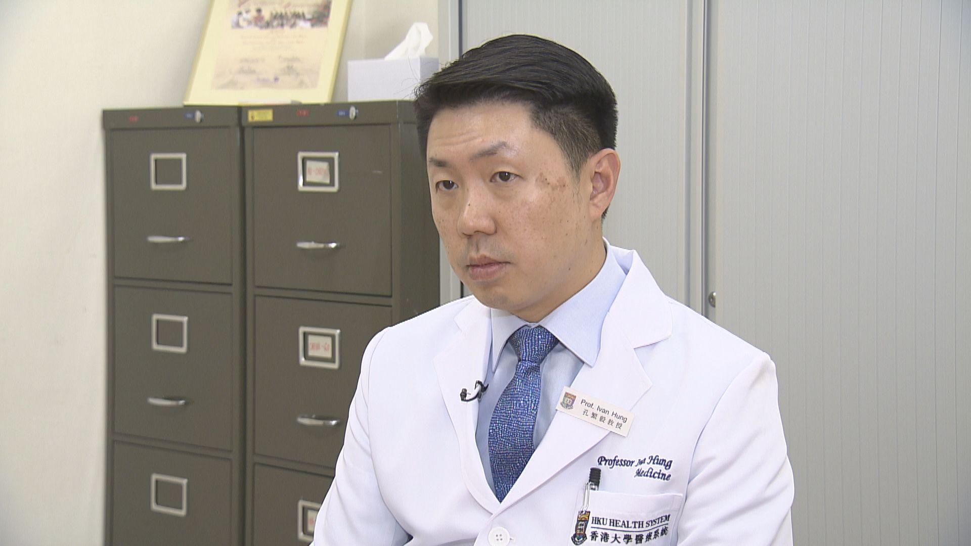 孔繁毅︰待解剖報告確認死亡個案與疫苗有否「非直接」關係