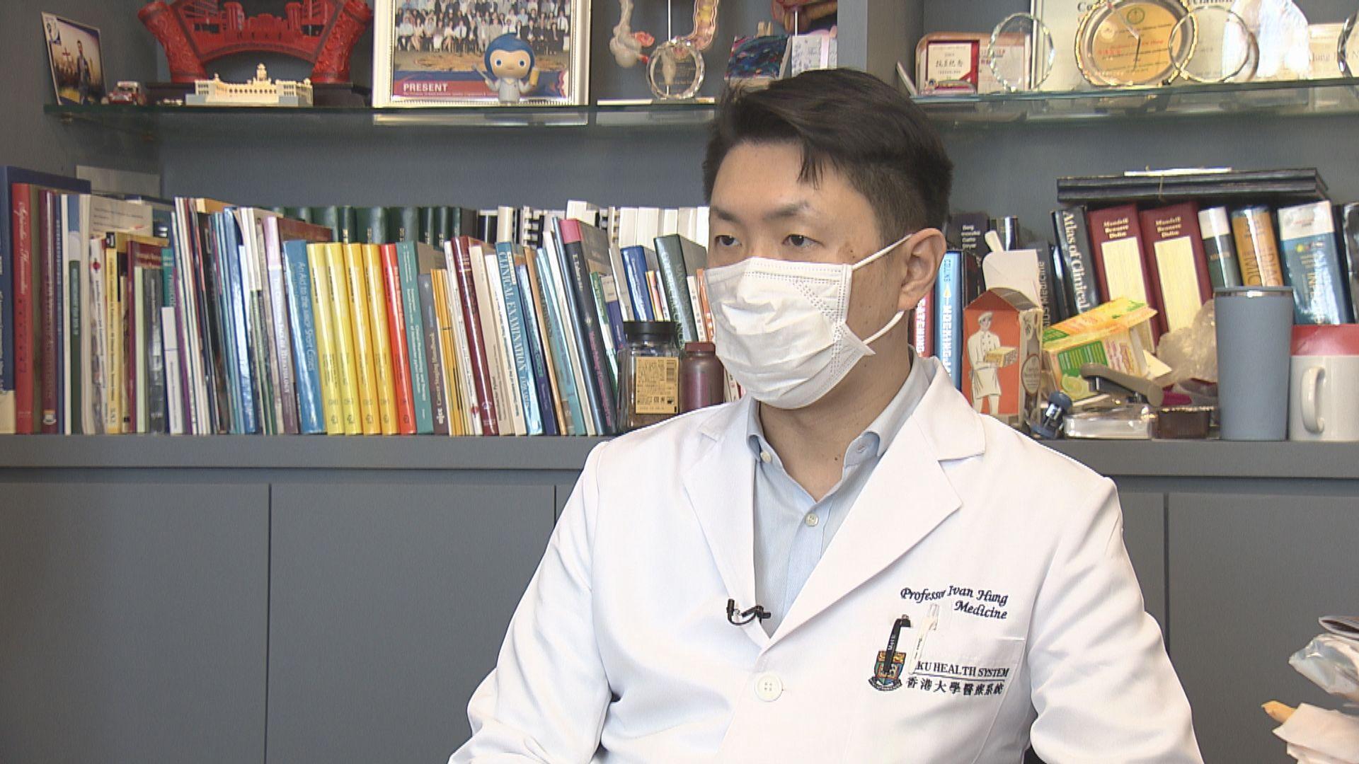 孔繁毅:新冠疫苗接種計劃開展時間短 難評死亡率高低