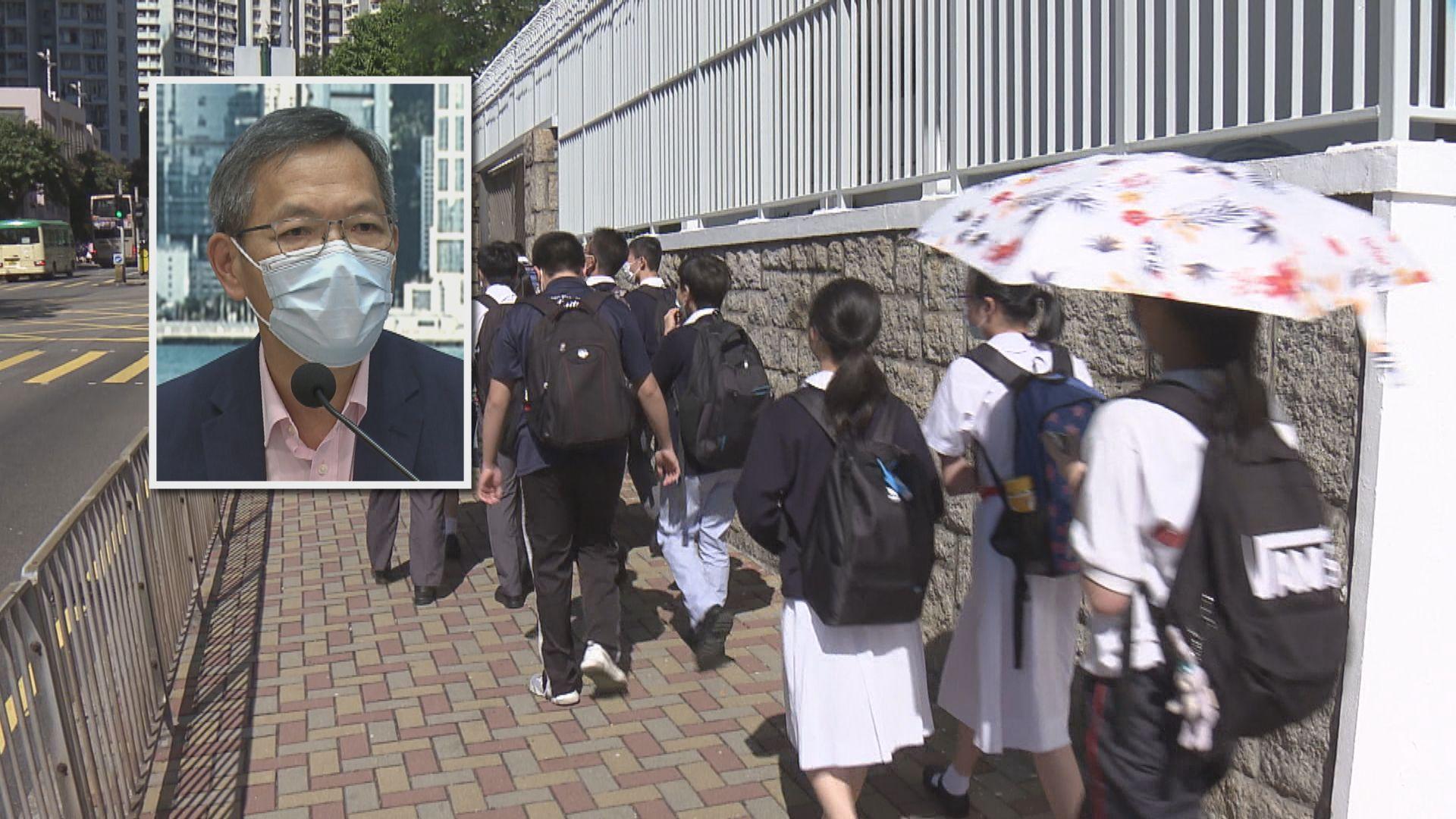 劉澤星:外地研究12至15歲年輕人對新冠疫苗反應良好