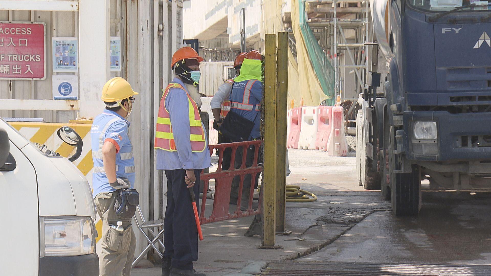 建造商會︰地盤環境不適合圍封 倡農曆年為工人檢測