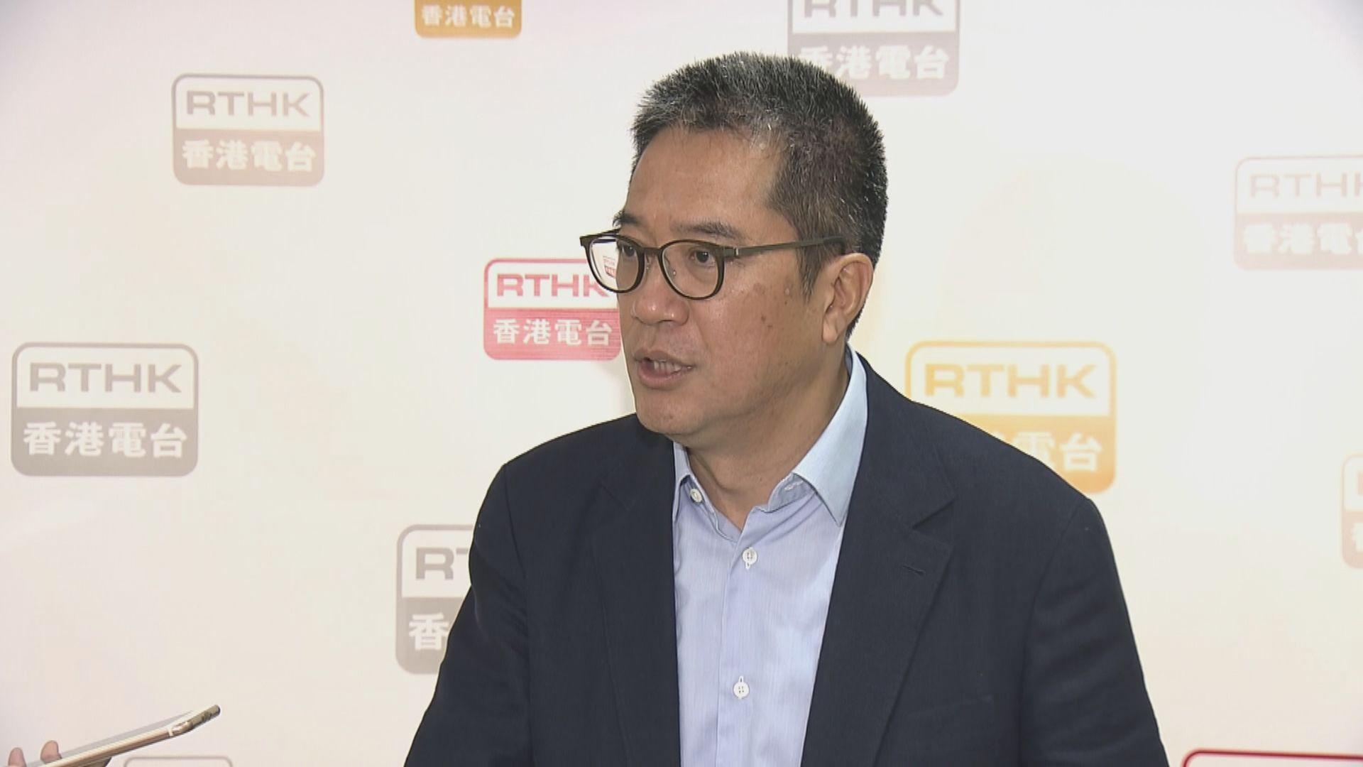 黃偉綸:不會再花時間討論其他選項