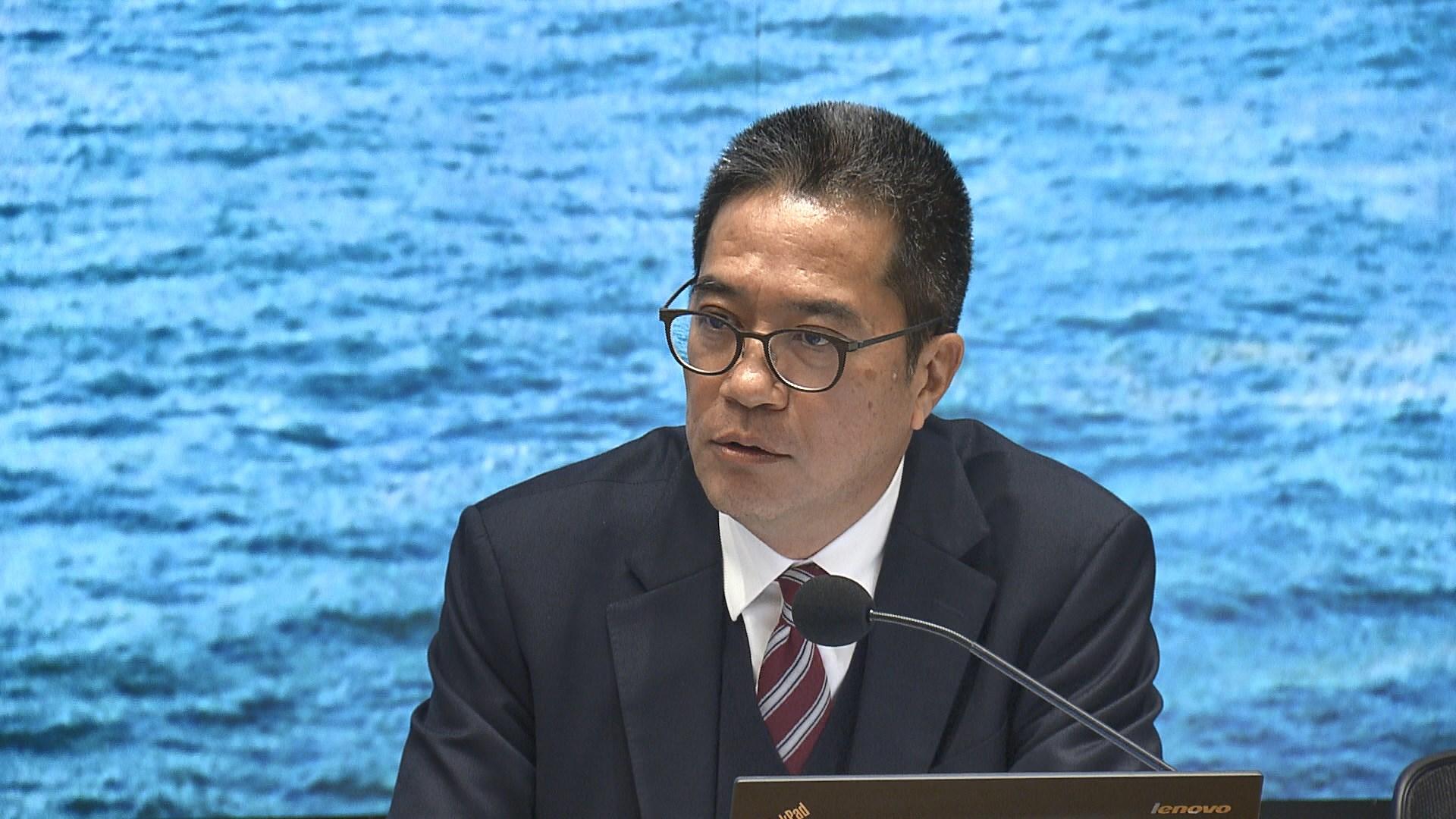 黃偉綸:明日大嶼賣地收入預測達萬億屬粗略估算